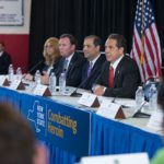 May 25, 2015-Staten Island, NY- Governor Andrew M. Cuomo today hosted a Heroin Task Force public listening session on Staten Island, where nearly 200 elected officials, health experts, community members and families impacted by addiction convened to discuss strategies and solutions to combat the opioid epidemic in New York State. Members of the Task Force received testimony on recommended changes to law, as well as new policies and best practices regarding heroin and opioid addiction prevention, treatment and recovery. Community input received at listening sessions will be included in the Task Force's final report. The Task Force will complete its review and deliver final recommendations to the Governor on June 1.